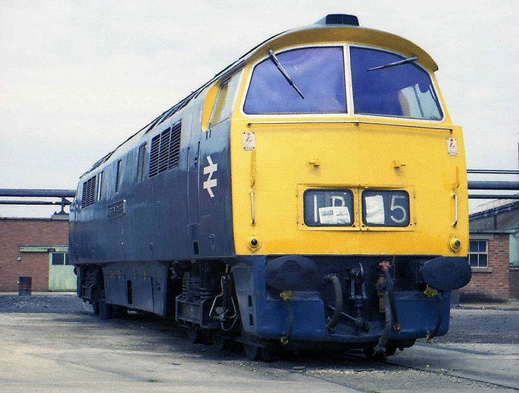 Western Courier At Swindon Works 1976
